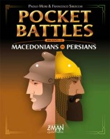Pocket Battles: Macedonians vs. Persians - Board Game Box Shot