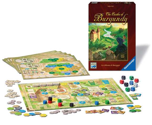 The-Castles-of-Burgundy-components