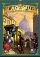 Thurn and Taxis: All Roads Lead to Rome - Board Game Box Shot