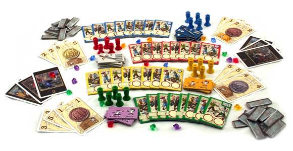Toledo game components