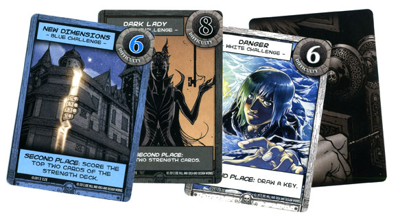 Locke and key challenge card samples