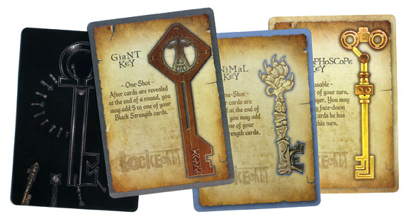 Locke and key key card samples