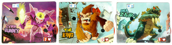 King of Tokyo character boards