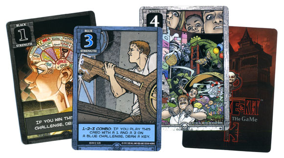 Locke and Key strength card samples