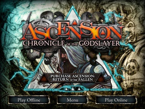 Ascension home screen