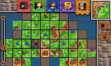 Carcassonne for android gameplay