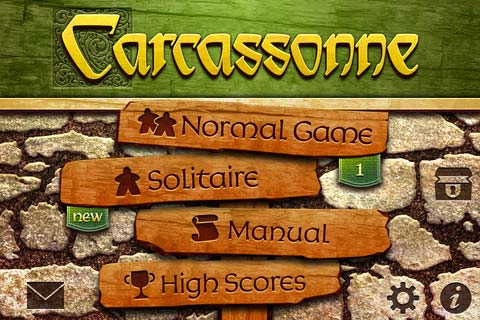 Carcassonne iOS home screen