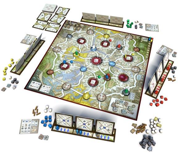 Edo game in play