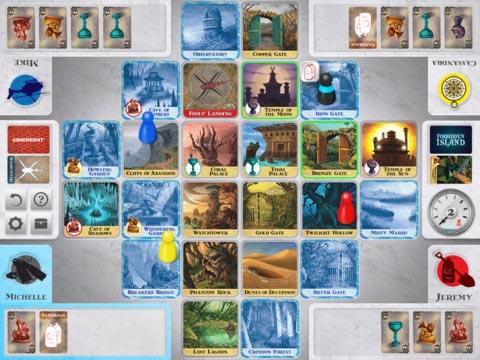 Forbidden Island gameplay