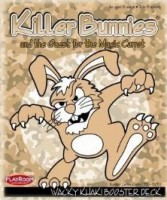 Killer Bunnies:  Quest – Wacky Khaki Booster - Board Game Box Shot