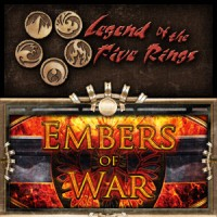 Legend of the Five Rings – Embers of War - Board Game Box Shot