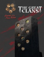 Legend of the Five Rings RPG: The Great Clans - Board Game Box Shot