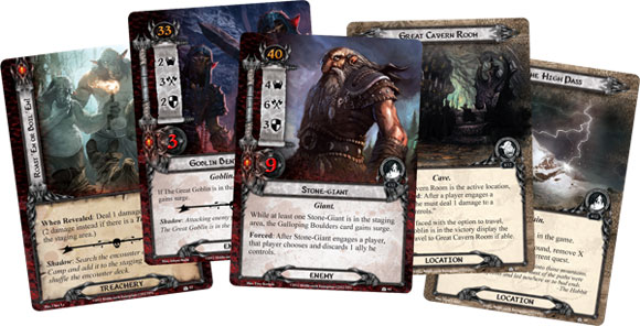 LOTR LCG Hobbit Saga Expansion cards 2