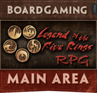 Legend of the Five Rings RPG: Fourth Edition - Board Game Box Shot