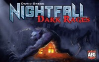 Nightfall: Dark Rages - Board Game Box Shot