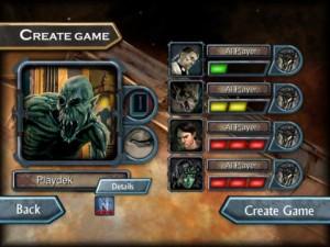 Nightfall digital board game setup