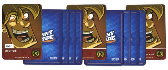 Penny Arcade: The Game, Gamers vs Evil boss stack
