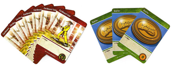 Penny Arcade: The Game, Gamers vs Evil resource cards
