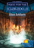 Race For The Galaxy: Alien Artifacts - Board Game Box Shot