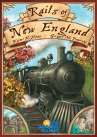 Rails of New England - Board Game Box Shot