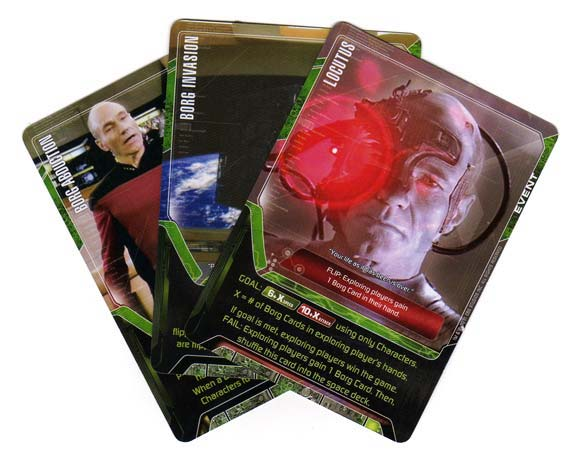 Star Trek Deck Building Game cards
