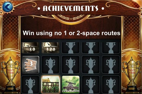 Ticket to Ride Pocket achievements