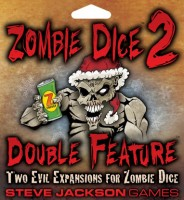 Zombie Dice 2: Double Feature - Board Game Box Shot