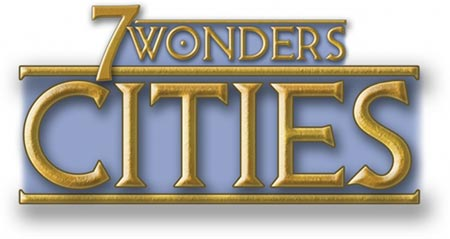 7 Wonders: Cities card game title