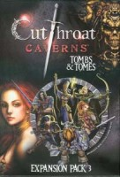 Cutthroat Caverns: Tombs and Tomes - Board Game Box Shot