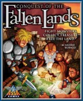 Conquest of the Fallen Lands - Board Game Box Shot