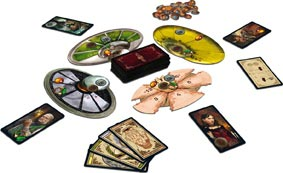 Divinare game components