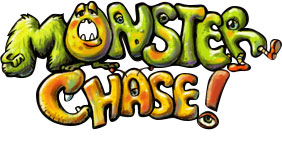Monster Chase game title