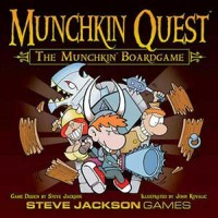 Munchkin Quest - Board Game Box Shot