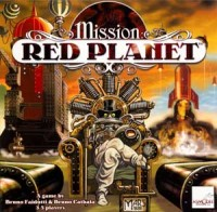 Mission: Red Planet - Board Game Box Shot
