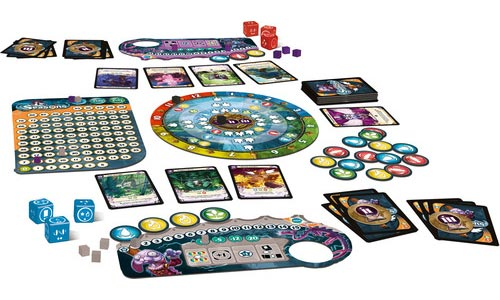 Seasons game components