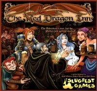 The Red Dragon Inn - Board Game Box Shot