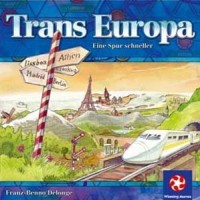 Trans Europa - Board Game Box Shot