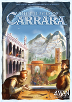 The Palaces of Carrara - Board Game Box Shot