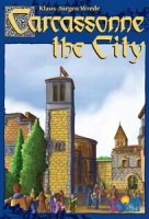 Carcassonne: The City - Board Game Box Shot