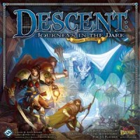 Descent: Journeys in the Dark (2ed) - Board Game Box Shot
