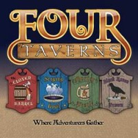 Four Taverns - Board Game Box Shot