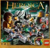 Lego Heroica: Castle Fortaan - Board Game Box Shot