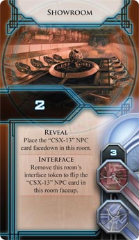 Infiltration room card