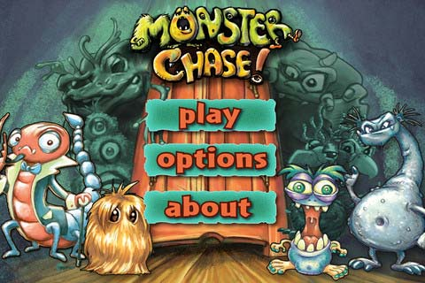 Monster Chase home screen