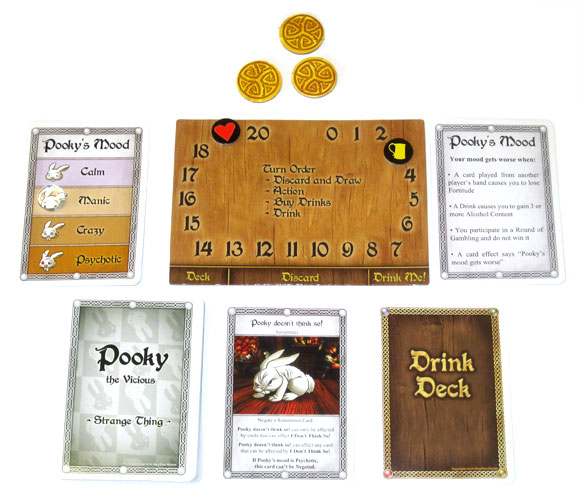 Pooky Ally Expansion Card Game Red Dragon Inn