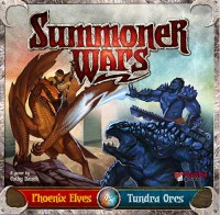 Summoner Wars: Phoenix Elves vs Tundra Orcs - Board Game Box Shot