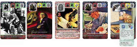 Ace Detective Cards