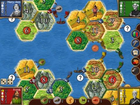 Catan seafarers gameplay