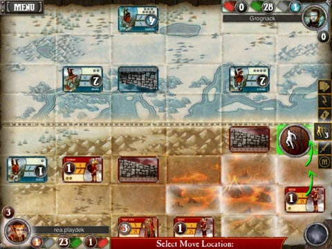 Summoner Wars gameplay