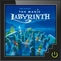 The Magic Labyrinth - Board Game Box Shot